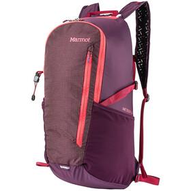 Marmot Kompressor Meteor 22 Ultralight Pack dark purple/brick